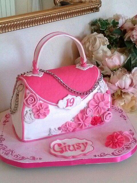 how to make a purse cake