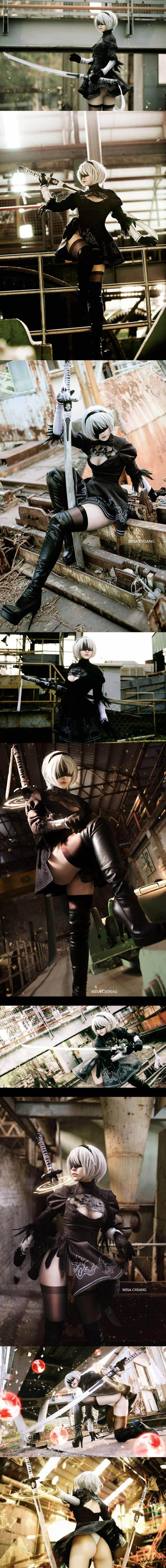 Nier automata 2B cosplay - COSPLAY IS BAEEE!!! Tap the pin now to grab yourself some BAE Cosplay leggings and shirts! From super hero fitness leggings, super hero fitness shirts, and so much more that wil make you say YASSS!!! Ps: là nam đấy ạh