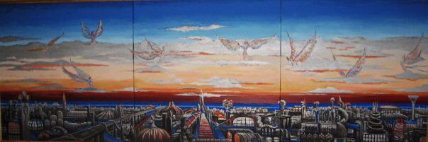 Meridiana, The city of the ideas, fantasy cities in art
