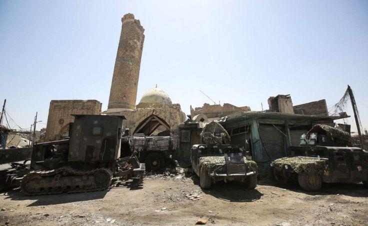 Iraq, la rinconquista di al-Nouri: l'esercito tra le rovine della Grande Moschea