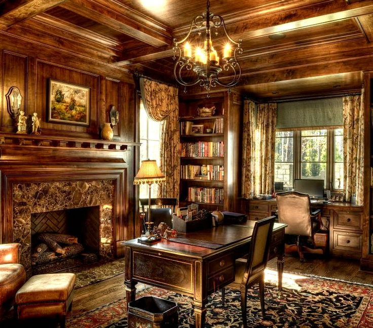 home office world. old world office home d