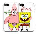 $5.00 OFF Until NEW YEAR'S DAY SALE Best Friends SET (2) Spongebob and Patrick iPhone 4 4s Hard Back Plastic Protective Case Cover / http://mormonfavorites.com/5-00-off-until-new-years-day-sale-best-friends-set-2-spongebob-and-patrick-iphone-4-4s-hard-back-plastic-protective-case-cover/