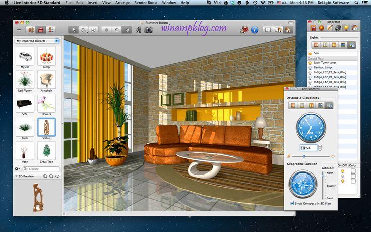 Live interior 3d pro 2 7 3 crack with license key download - Interior design software free ...