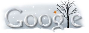 First day of Winter Southern Hemisphere 2009 - Google Doodle