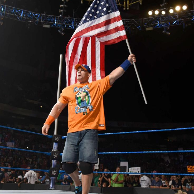 SmackDown 7/18/17: Rusev blindsides John Cena ahead of their Flag Match