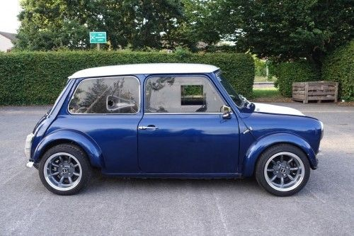 The Only Place To Auction Your Classic Motor 1978 Classic Leyland Mini Hayabusa bike engine - Z Cars Race ConversionHave a great Saturday everyone : Save this to your smart phone http://9322.crankyshaft.co.uk and it becomes a WebApp!! : : Priced at GBP £10,995.00 :  : The car was purchased on 28/4/2013 as a completed build. Its awesome fun to drive, lots of power, while still retaining the classic mini characteristics. I've loved this car from day one, but it is now time t