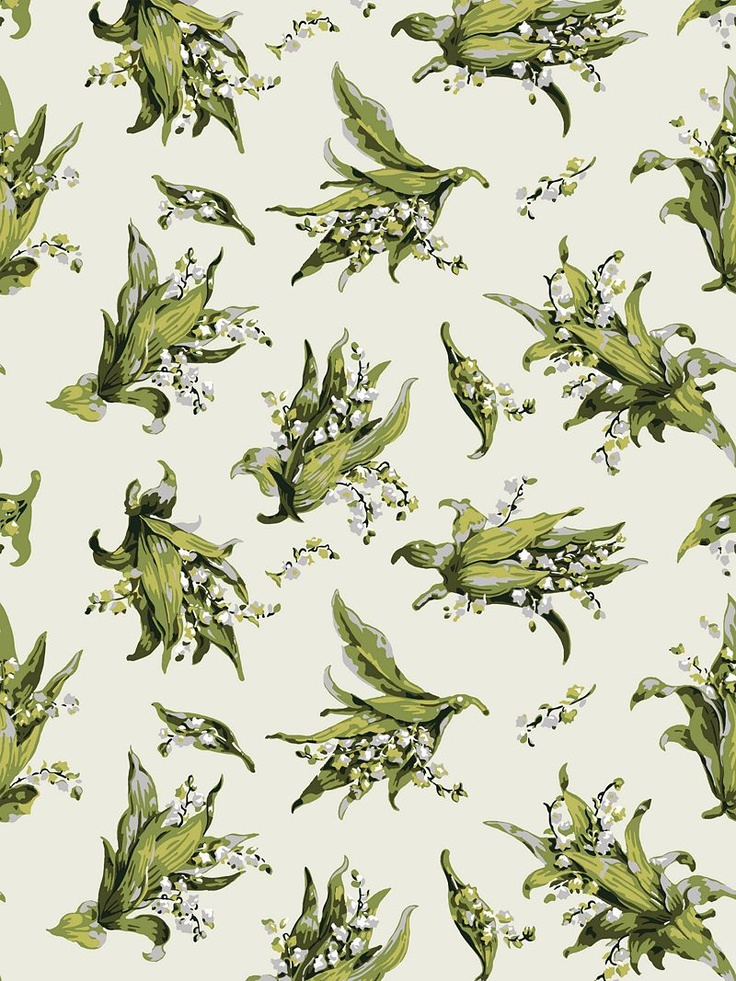 Buy Cole & Son Lily of the Valley Wallpaper, Ivory