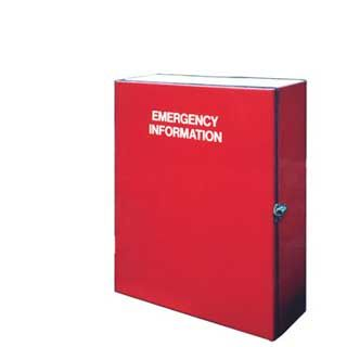 Emergency Information Cabinets
