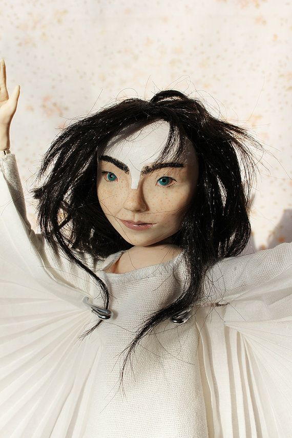Bjork Doll by lalkoduch on Etsy