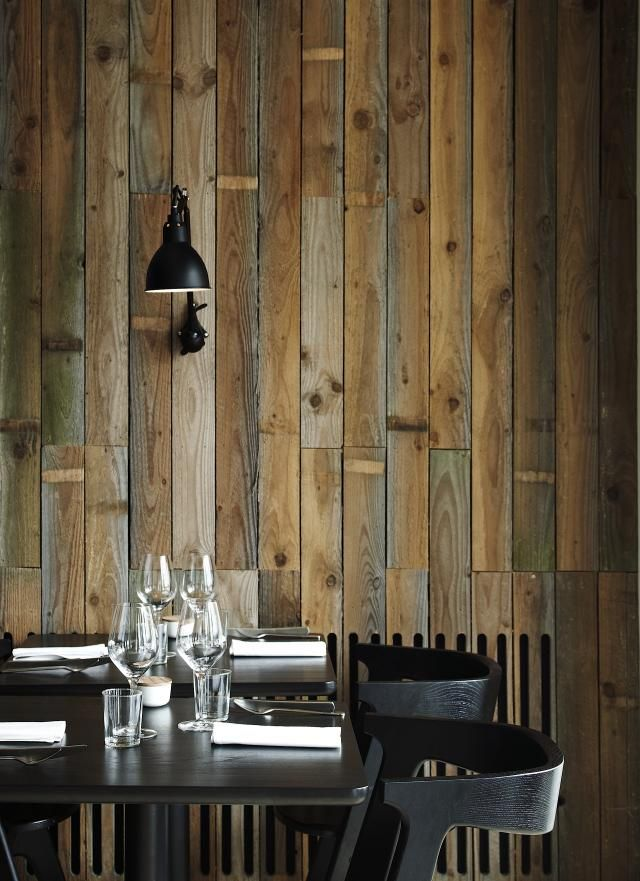 :: RESTAURANTS:: Collaborating with graphic designer Christina Meyer Bengtsson, the young Danish design firm Holmback Nordentoft have imbued the interiors with an equally local sensibility. Love the honest interiors of Copenhagen's Restaurant Radio. #restaurants