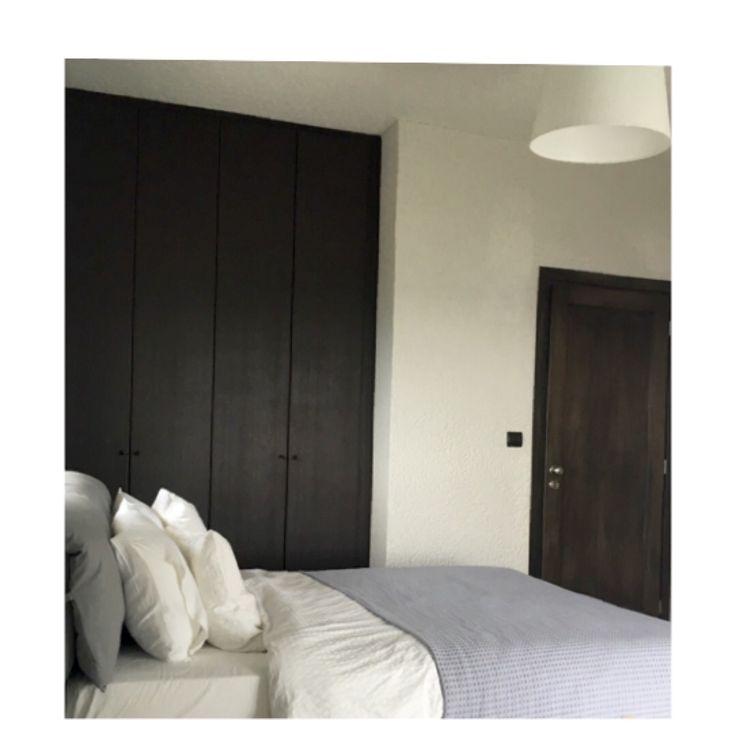 #bedroom #wardrobe #door #wood #design #interior #interiordesign #home