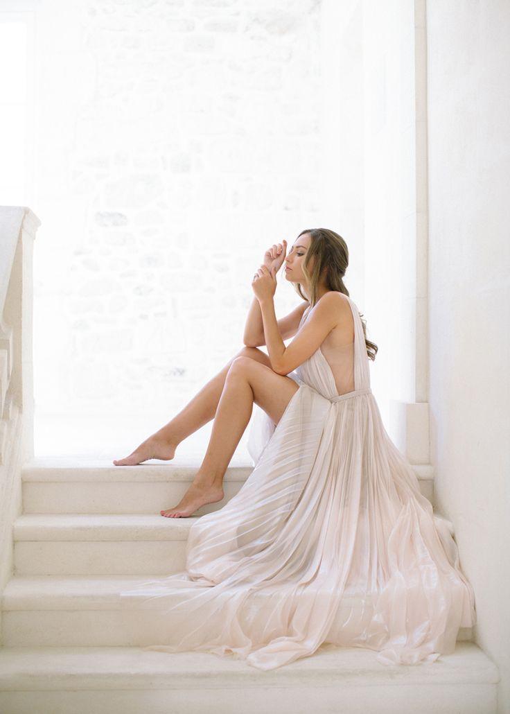 Tendance Robe du mariage 2017/2018  Blush J. Mendel wedding dress: Photography : Larissa Cleveland Photography | Wed