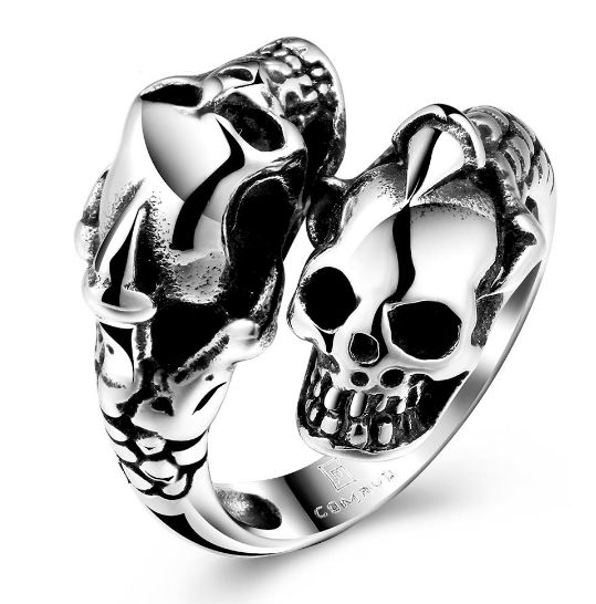 Stainless Steel Death Claw Ring – Rings of Anarchy