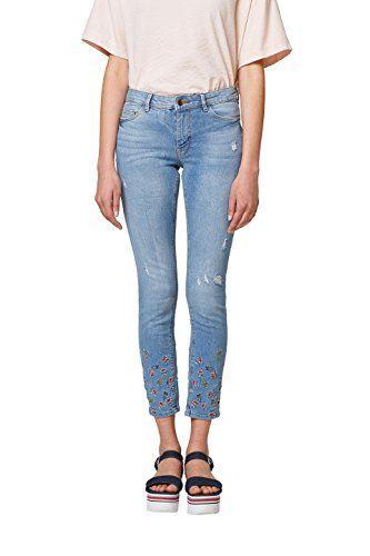 0bfc8ef0e62 edc by Esprit Women's 038cc1b031 Skinny Jeans (Blue Medium Wash 902)  W27/L32 (Manufacturer Size: 27/32)
