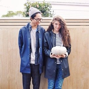 This is Lorde and her boyfriend James Lowe. | Lorde's Boyfriend Is A Crazy Talented Photographer