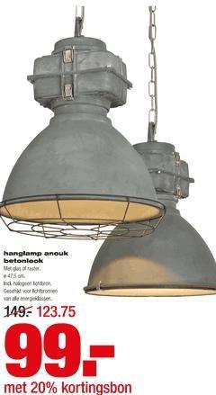 hang lamp anouk betonlook praxis - Google zoeken