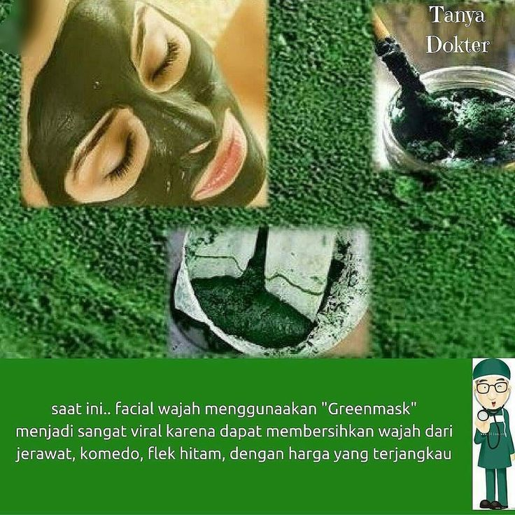 Assalamuallaikum Ukht.. Sudah tau Greenmask Masker ?? Masa kamu gak Tau ?? [MASKER WAJAH YG PALING BANYAK DIGEMARI PARA SELEBRITI & SELEBGRAM]  Kandungan nutrisi Greenmask Spirulina sangat tinggi 1x masker sama dengan memberi nutrisi 1kg sayuran dan buah segar pada kulit wajah kamu.  Hasilnya? Jerawat dan komedo hilang wajah bersih dan kencang seketika !! So? Tunggu apa lagi? Yuk pake GreenMask   FREE KONSULTASI !! FOLLOW -----> @GreenmaskMurah  Line : @Greenmaskmurah ( pakai @ yaa ) WA…