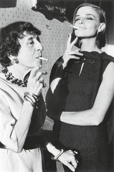 Marie-Louise Bousquet and Iris Bianchi, Fashion by Pierre Cardin, for Harper's Bazaar, 1962