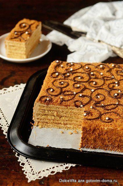 """Чешский торт """"Марленка"""""""