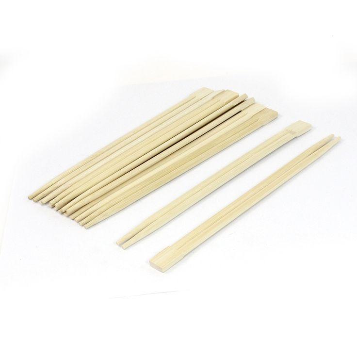 Household Restaurant Bamboo (Green) Chinese Chopsticks Beige 21cm Long 10 Pair