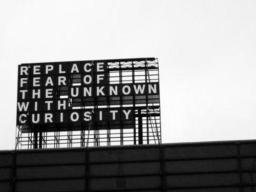 curiosity billboard