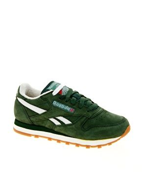 Reebok Classic Vintage Green Trainers - 116