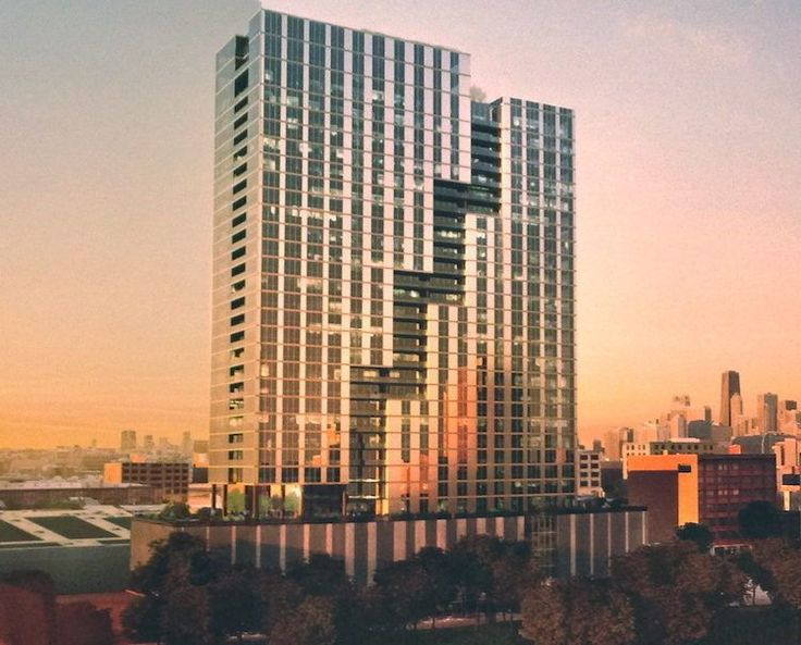 West Loop buildings to bite the dust, 32-story apartment tower not far behind? - Curbed Chicagoclockmenumore-arrow : Though quiet for years, the high-rise project for 1061-1107 W. Van Buren Street is looking to move forward