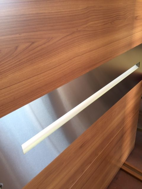 Handle Detail From our newest Pivot Door Project