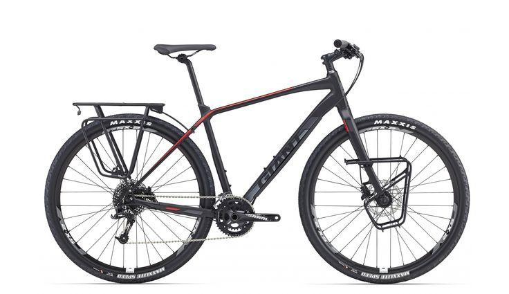 Giant ToughRoad SLR 1 fitnessbike rood/zwart | Bestellen op bikester.nl