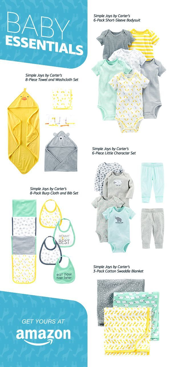 All Your Baby Essentials From Simple Joys By Carters Shop Now Only On Amazon Https Twitter Com Gmli Summer Baby Clothes Baby Clothes Online Baby Boy Romper