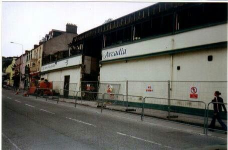 Demolition of the Arcadia