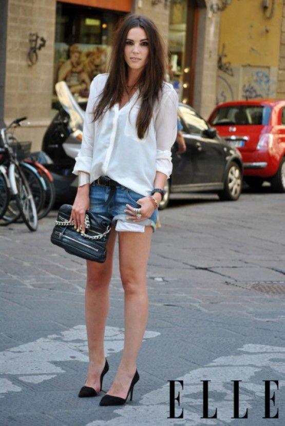 77 best Ootd - Short Jeans. Denim Shorts. images on Pinterest