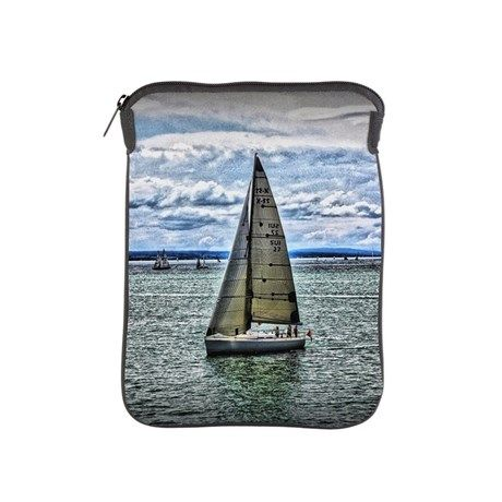 Yacht iPad Sleeve by AngelEowyn. $38.50