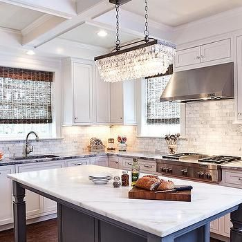 island chandelier lighting. clarissa crystal drop extralong rectangular chandelier with gray kitchen island lighting n