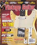 Vintage Guitar Magazine October 2015