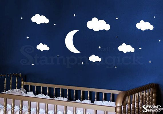 Best 25 nursery wall decals ideas on pinterest nursery for Alex cherry flying whales wall mural