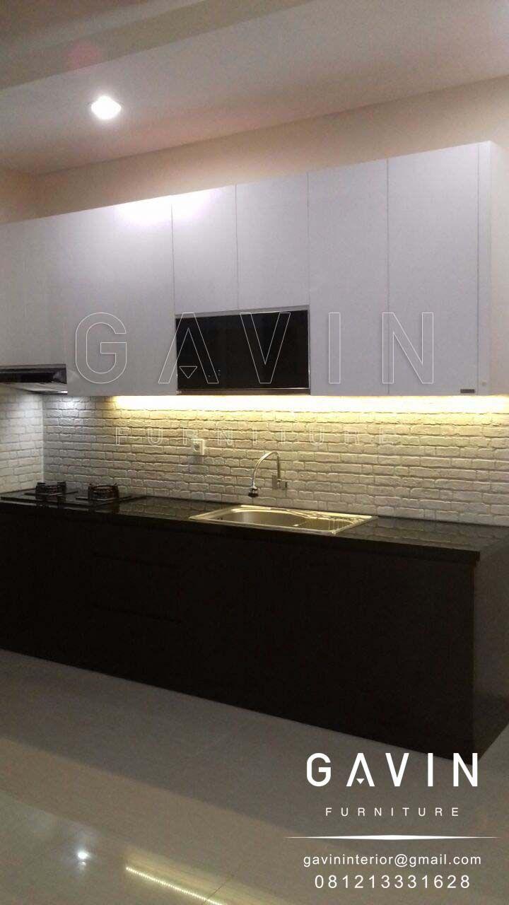 berbagai pilihan dan model kitchen set yang menarik Kitchen Set Design Minimalis HPL Kombinasi Gavin furniture memproduksi berbagai macam kitchen set design secara custom sesuai dengan kebutuhan da…