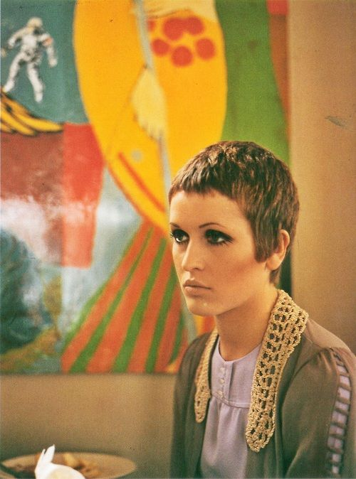 1968, Julie Driscoll by Jan Olofsson: Fierce Haircuts, July Driscoll By Jan Olofsson, Late 1960S, Shorts Hair, 1960S Elle, Posts, 60S Fashion, Pixie Cut, 1960 S