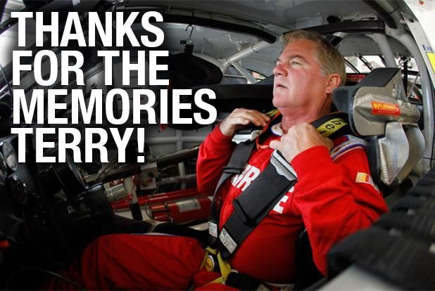 RETWEET to wish Terry Labonte good luck in his final @NASCAR race today at @TalladegaSuperS!