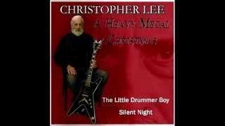 Christopher Lee. A Heavy Metal Christmas, via YouTube.