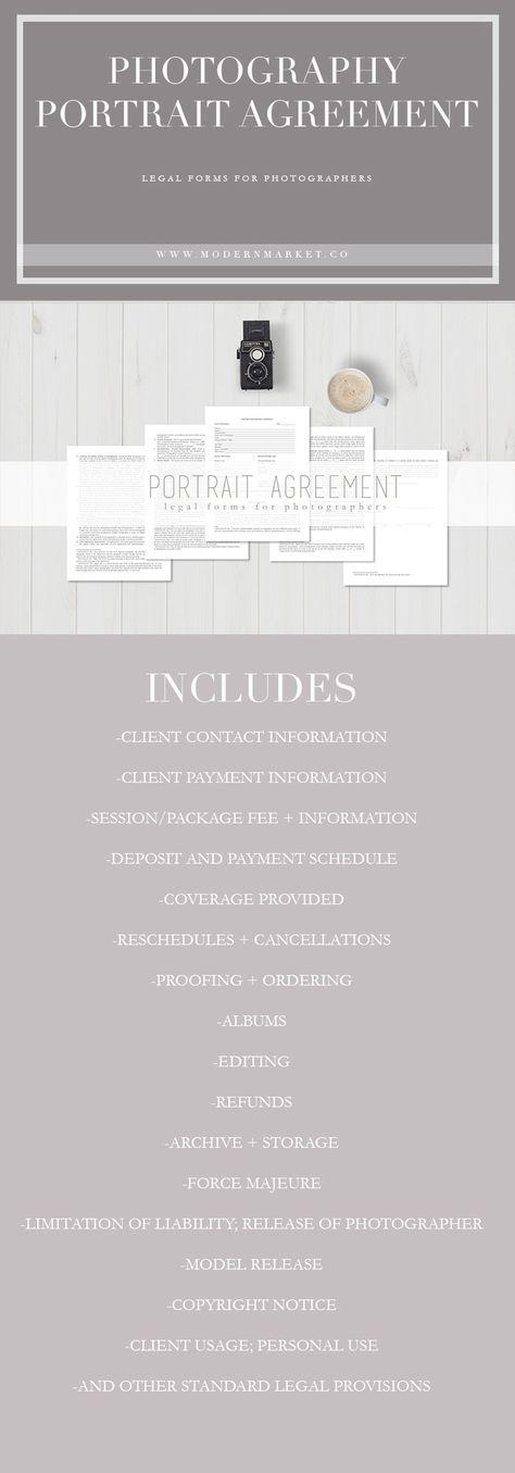 Πάνω από 25 κορυφαίες ιδέες για Photography contract στο Pinterest - photography contract template