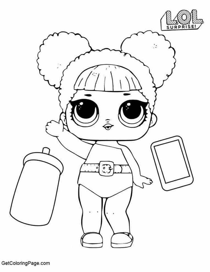 Surfer Babe Coloring Page Lotta Lol Coloring Pages Cartoon