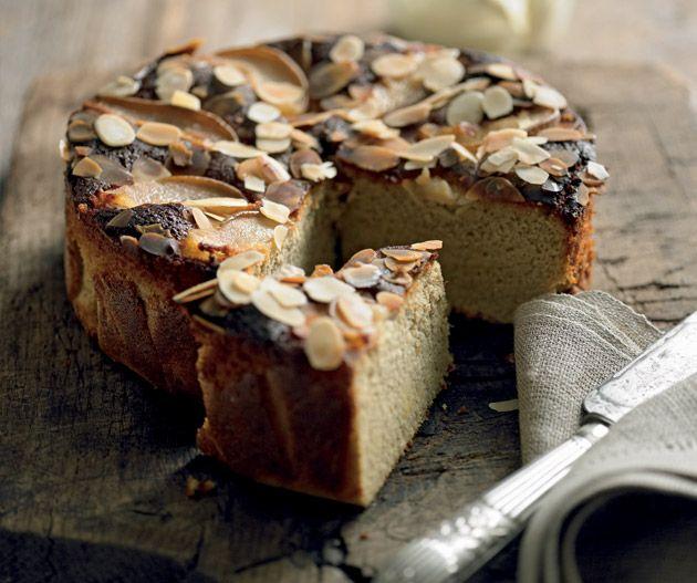 Vanilla pear almond cake | Lantern