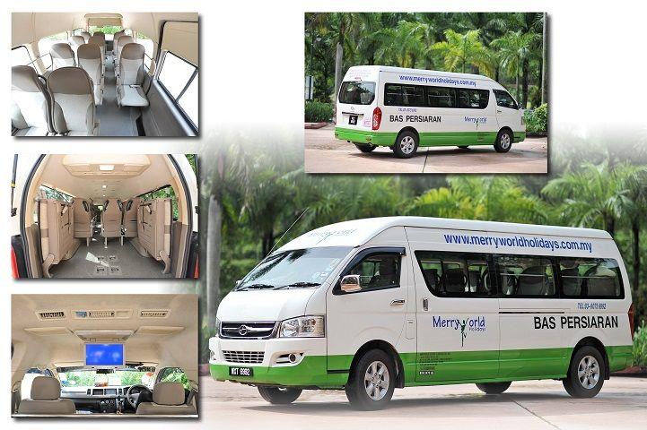 Van Rental Malaysia - 16 Seater Van 1