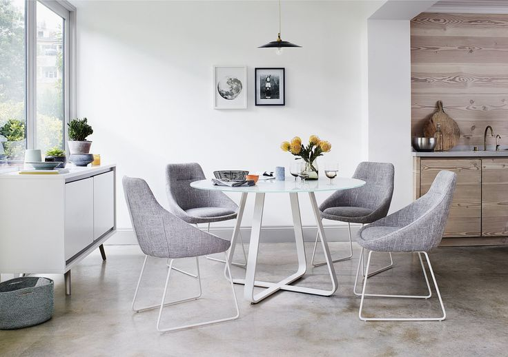 Best 25 glass round dining table ideas on pinterest for Kitchen ideas queensway