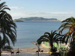 Vista do hotel em Ibiza, na Espanha. Roteiro de Viagem: Ibiza, Espanha | Viagem Primata