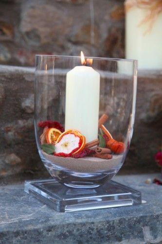 Fruit Candle Vase