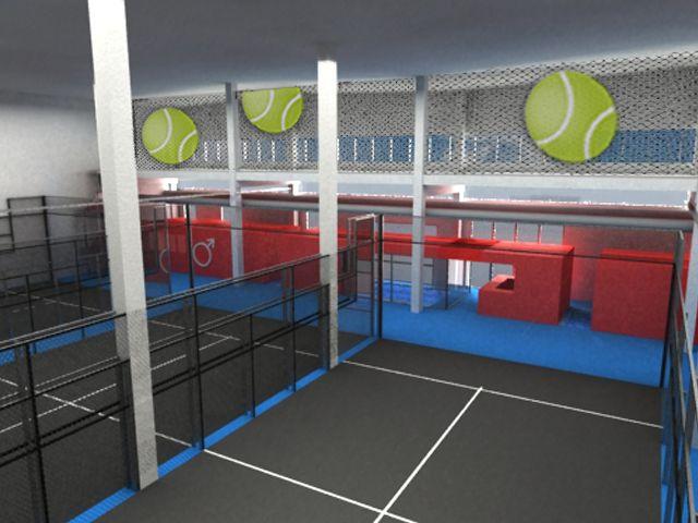 Pistas de padel Indoor, Vilanova / AMSA Arquitectura