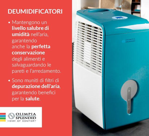 Parliamo di #deumidificatori: alcune curiosità sulla loro utilità! http://www.olimpiasplendid.it/deumidificazione-umidificazione/deumidificatori