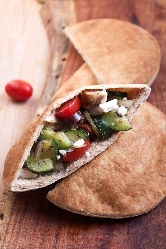Greek Stuffed Pitas Recipe on Yummly. @yummly #recipe
